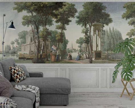 mural wallpaper french museum edition papiers de paris