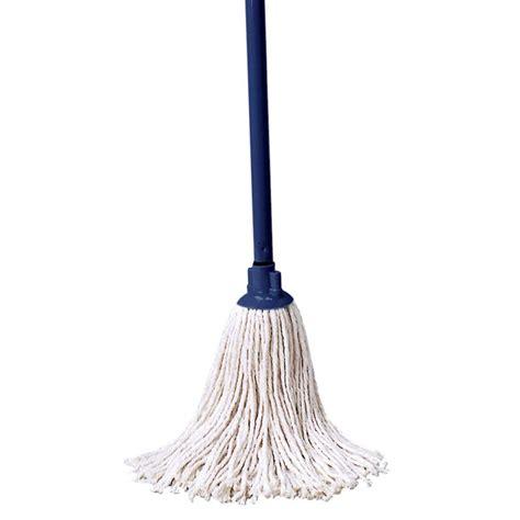 cotton floor mops rubbermaid fggo4204wh00 46 quot cotton mop with handle white