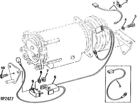 john deere  cab wiring harness  wiring diagram var