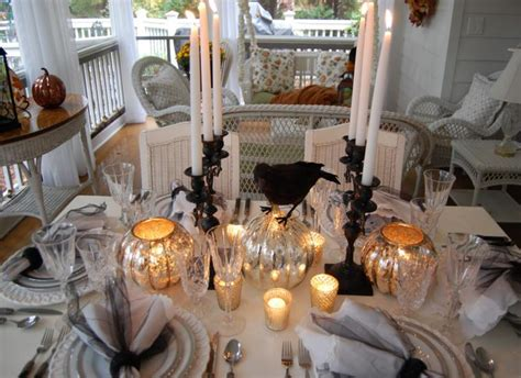 recetas halloween como decorar una mesa terrorifica