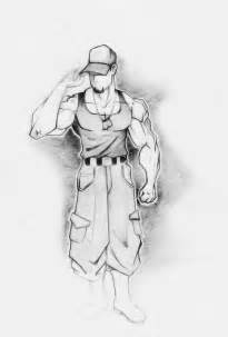 Steps to Draw a Marine Soldier Drawings