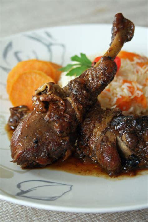 cuisine antillaise fricassé de poulet caramélisé à l 39 antillaise