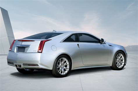 2011 Cadillac Cts Coupe First Official Photos Of Gm's Bmw