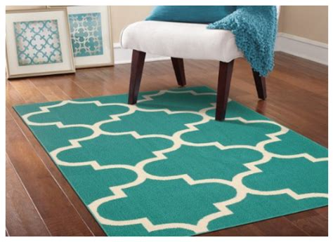 Teal Rug Walmart by Teal Moroccan 5x7 Rug For A Room Price