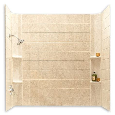 bathtub enclosure that looks like tile images frompo