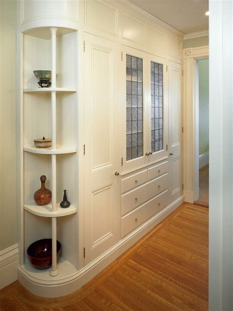 linen closet ideas bathroom traditional with accent tiles