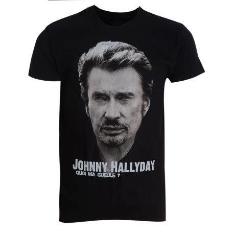Tshirt Pria Johny shirt femme johnny hallyday