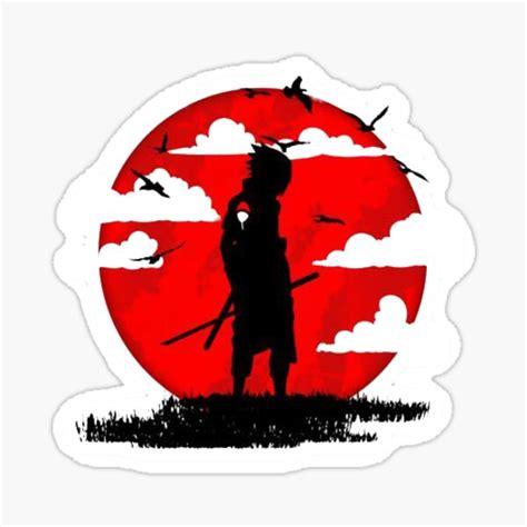 sasuke uchiha stickers redbubble
