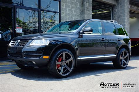 vw touareg   vossen cv  wheels exclusively