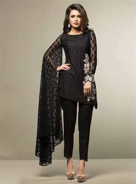 cotton black dress zainabchottani beguiled by black lace dresses