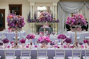 Modern Purple Wedding Reception Decorations With Your