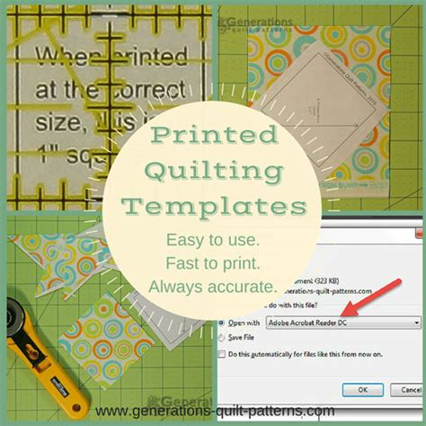 quilting templates easy   fast