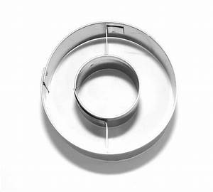 letter o 65 cm cookie cutter stainless steel With stainless steel alphabet letters