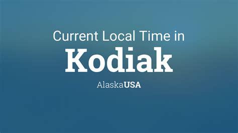 current local time  kodiak alaska usa