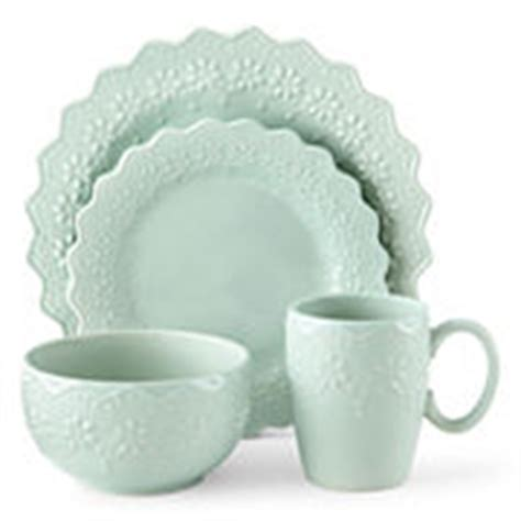 jcpenney home chantilly lace  pc dinnerware set