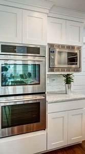 Küchenschränke Streichen Ideen : double wall ovens shaker cabinetry k che kitchen ~ Eleganceandgraceweddings.com Haus und Dekorationen