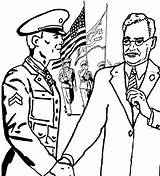 Coloring Medal Purple Heart Marine Honor Drawing Corps Popular Getdrawings sketch template