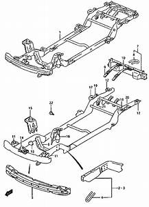 2001 Suzuki Grand Vitara Parts Catalog