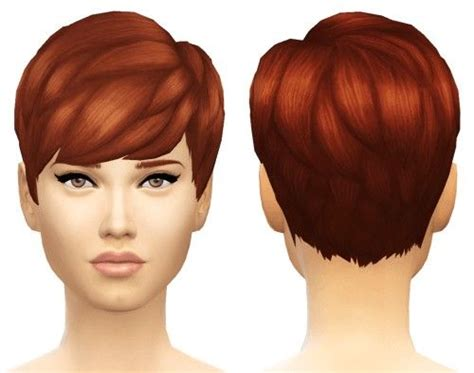 simny straight bangs hair converted sims  downloads