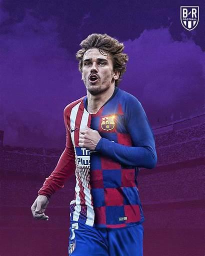 Griezmann Barcelona Wallpapers Antoine Signing Breaking Football