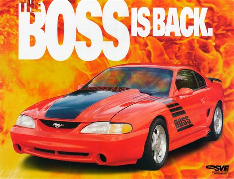 laser red  boss shinoda ford mustang coupe