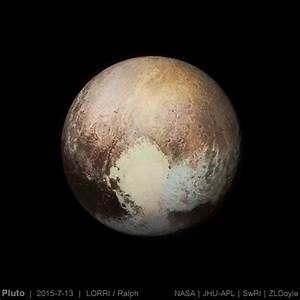 Pluto: early best guess at color | The Planetary Society