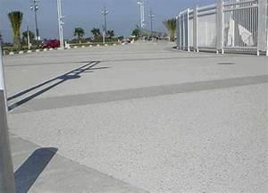 Béton Désactivé Gris : sols en beton tous les fournisseurs sol beton coule ~ Melissatoandfro.com Idées de Décoration