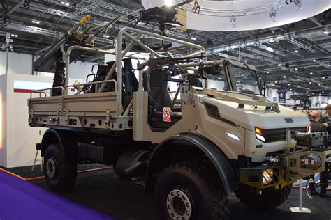Jankel Launch SOF Light Tactical Transport Vehicle at DSEI ...