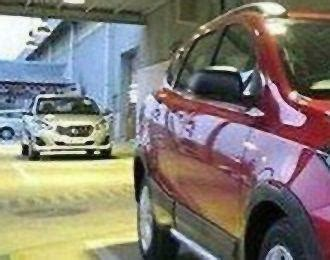 Datsun Cross Backgrounds by Indonesia Datsun Go Facelift Spied Team Bhp