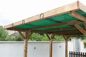 Faire Un Carport : faire un toit plat en bois tp48 jornalagora ~ Premium-room.com Idées de Décoration