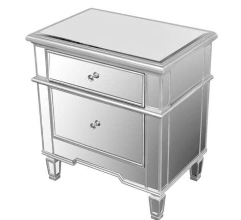 Hayworth Mirrored 3 Drawer Dresser by Hayworth Mirrored Stand