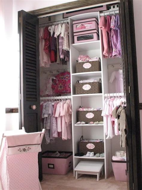 Small Baby Closet Organization Ideas by Easy Ideas And Tips For Organizing The Baby S Closet