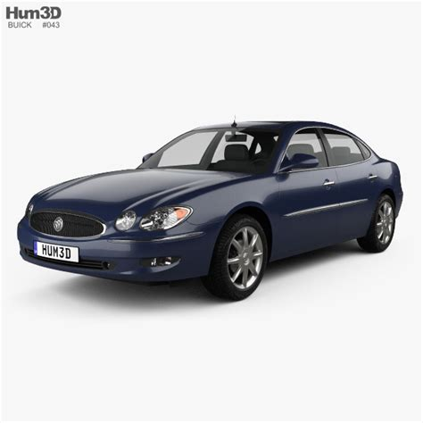 Buick Lacrosse Models by Buick Lacrosse Cxs 2005 3d Model Vehicles On Hum3d