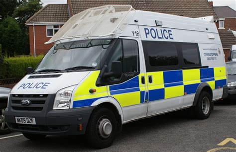 NORTHUMBRIA POLICE FORD TRANSIT RIOT VAN 09 | If any one ...