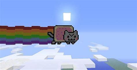 Evil Nyan Cat Minecraft Project