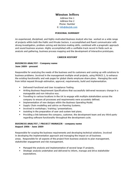Senior Hris Analyst Resume by Resume Font Size And Type Sle Resume For