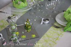 deco table vert et blanc d 233 co de table vert anis et lilas i d 233 coration table vert anis et parme d 233 corations table