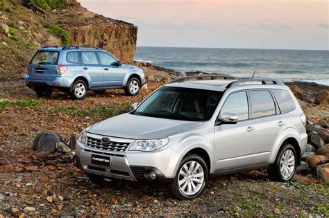 2011 Subaru Forester Models Compared
