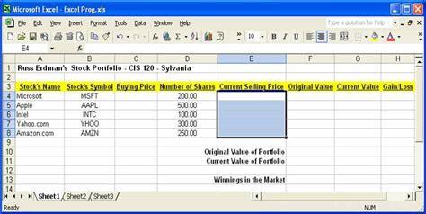 stock portfolio excel template best photos of exle of stock portfolio exle stock portfolio stock portfolio spreadsheet