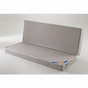 matelas mousse clic clac 2x65x190 pas cher a prix auchan With tapis enfant avec matelas de canapé clic clac