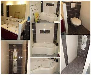 salle de bain wc With modele de salle de bain avec wc