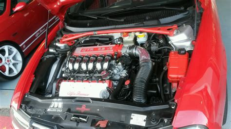 Alfa Romeo 156 Gta Engine Bay I Saw 3 Weeks Ago. Who Says