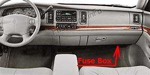 Fuse Box Diagram Buick Park Avenue  1997