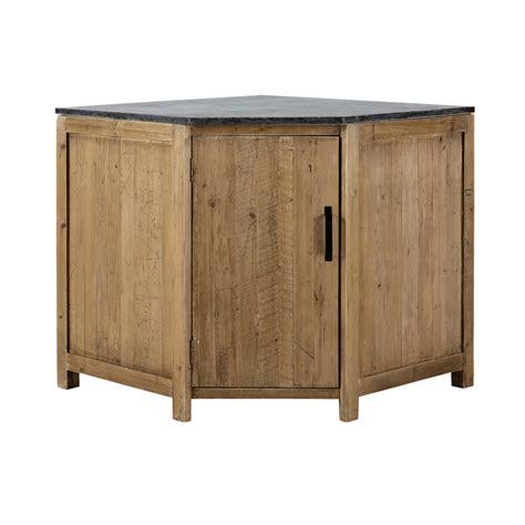 meuble de cuisine angle bas meuble bas d 39 angle de cuisine ouverture gauche en bois