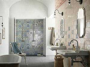 Meuble Salle De Bain Turquoise : excellent meuble salle de bain turquoise carrelage salle ~ Dailycaller-alerts.com Idées de Décoration