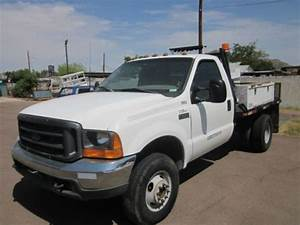 Sell Used 2000 Ford F350 4x4 Flatbed Dually 7 3 Diesel
