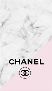 Chanel logo pink marble iphone background | Mine ...
