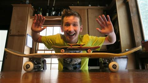 tech deck board tricks three skate tricks on three kinds of boards tech deck