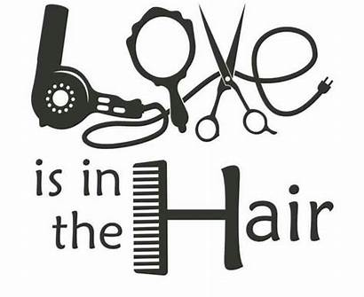Hair Hairdresser Quotes Hairstylist Salon Decal Cosmetology