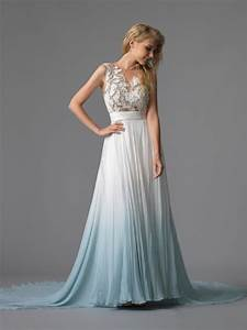 dip dye wedding dresses are so unique interestang With dip dye wedding dress